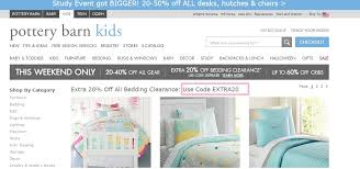 pottery barn kids bedding outlet spotify coupon code free