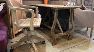 chaise de bureau en bois à fauteuil de bureau bois pivotant fauteuil bureau bacquet lepolyglotte