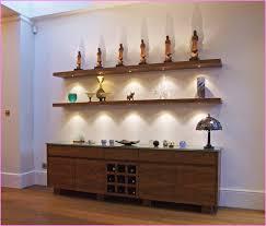 shelf with lights underneath 28 floating shelves with lights 1 tier led floating shelf led