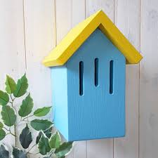 Verditer Blue Simply Colour Butterfly House By Lindleywood Notonthehighstreet Com