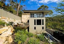 bay house design on australia shoreline