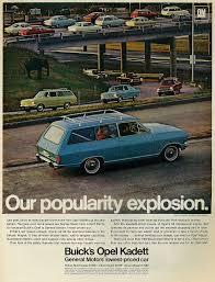 1967 car ad gm buick opel kadett vintage 1960s magazine a u2026 flickr