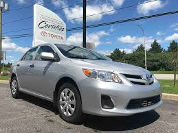 used 2012 toyota corolla ce in gatineau used inventory villa