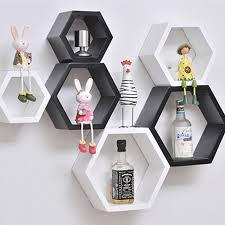 Diy Honeycomb Shelves by Aliexpress Com Buy Home Diy Decorative Wall Floating Honeycomb