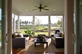 Enclosed Patio Windows Decorating Bring The Outside In This Living Family Room Pinterest