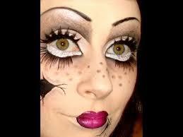 Marionette Doll Halloween Costume Psycho Doll Halloween Makeup Tutorial