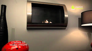 anywhere fireplace chelsea stainless steel ventless bio ethanol