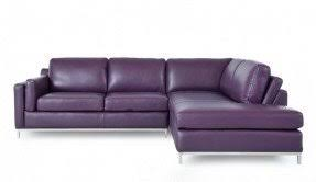 Plum Leather Sofa Purple Leather Sectional Foter