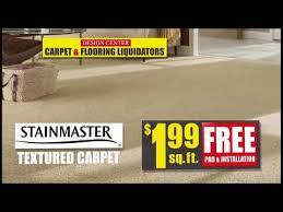 carpet flooring liquidators 2017 fall sale held