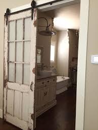 Barn Bathroom Ideas Bathroom Glass Barn Door Modern Glass Barn Door For Full Size