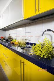 yellow kitchen design yellow kitchen design photos