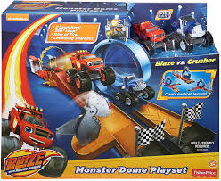 amazon com fisher price nickelodeon blaze u0026 the monster machines