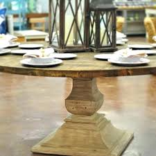 rustic round pedestal dining table large rustic round dining table great rustic round dining table have