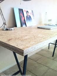 bureau en osb bureau met industriële look die tevens te gebruiken is als eettafel