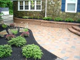 Paving Stone Patio Backyard Pavers Cost Home Outdoor Decoration