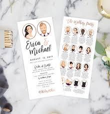 design wedding programs wedding programs