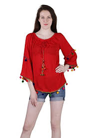 top design hipe rayon design causal top for at glowroad a1nhh6