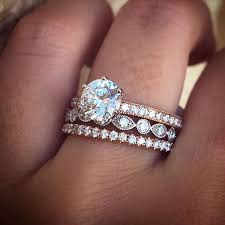 silver engagement ring gold wedding band wedding rings best 25 wedding ring ideas on