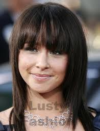 front fringe hairstyles straight bangs hairstyles lustyfashion