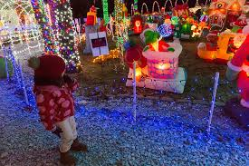 stewart family spreads holiday cheer with massive christmas light