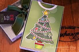 gift card trees nichol spohr llc lawn fawn september inspiration week trim the tree