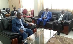 chambre nationale des huissiers de justice visites du président de la chambre nationale des huissiers de