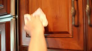 How To Remove Greasy Film From Kitchen Cabinets  Home Cleaning - Cleaning kitchen wood cabinets