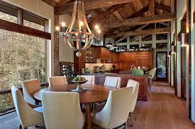 rustic kitchen chandelier home design styles