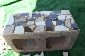 Concrete Block Garden Wall by Mosaic Cinder Block Planter Part One Delicate Construction