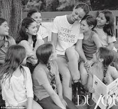 christy turlington introduces daughter grace in intimate shoot