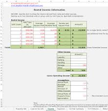 Property Flipping Spreadsheet Rental Income Property Analysis Excel Spreadsheet