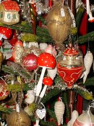 christmas nostalgia vintage christmas antique ornaments