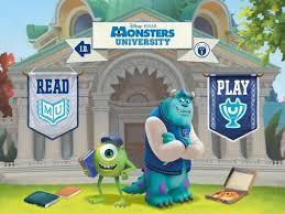 monsters university storybook apps kids ipad iphone