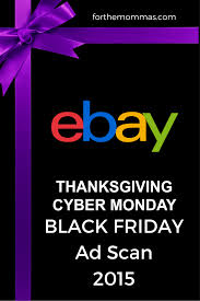 ebay black friday thanksgiving cyber monday ads 2015