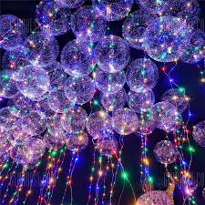 philips led dome christmas lights christmas party bobo balloons with led string light 3pcs 7 60