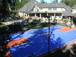 Build A Basketball Court In Backyard Basketball Courts Sport Court Of Massachusetts