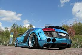 audi r8 chrome blue performance u0027s wild wide body audi r8 v10 audisite com
