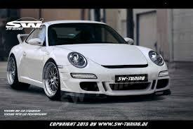 porsche dakar front bumper sw design for porsche 911 997 gt3 carrera 05 08 gt