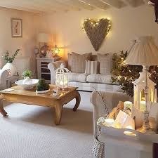 Shabby Chic Style Beige Living by This Super Cosy Living Room Belongs To West Barn And Features Our