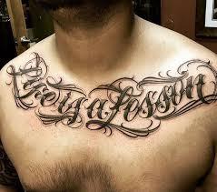 best 25 chest tattoo lettering ideas on pinterest chest tattoo