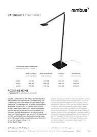 Esszimmerst Le M El H Fner Nimbus Roxxane Home Stehleuchte Von Rupert Kopp Designermöbel