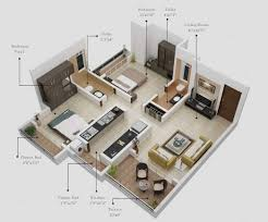 Two Bedroom Design Sweet Two Bedroom Design Plan 2018 Including Fascinating Apartment