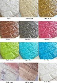 insulation anti water water proof self adhesive stone foam brick