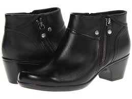 s boots wide width clarks bendables ingalls thames s leather ankle boots 66773