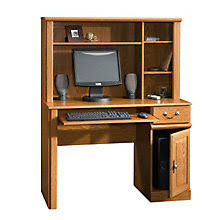 Small Desk With Hutch Executive Style Sauder Desks Premium Sauder Computer Furniture