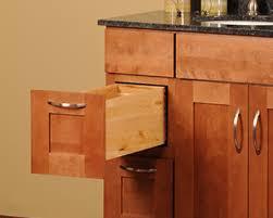walnut shaker vanity in stock kitchens