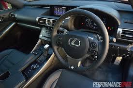 2014 lexus is 250 youtube 2014 lexus is 350 f sport review video performancedrive