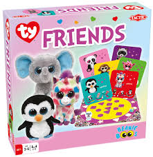 tactic games announces ty beanie boos games dice tower