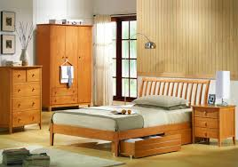 High Frame Bed Solid Wood Bed Frame Wooden Bed Single Wooden Beds High Bed