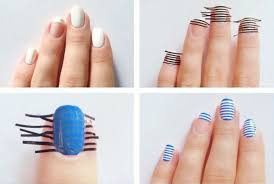 easy and wonderful nail art tutorial